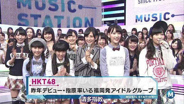 【博多不够热】140905 Music Station HKT48剪辑版_201491014953