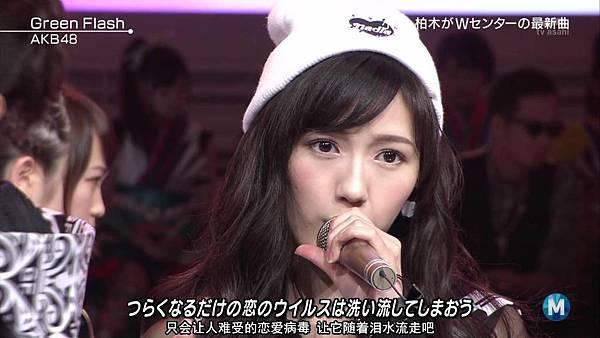 【东京不够热】150227 Music Station AKB48 剪辑版_2015341526