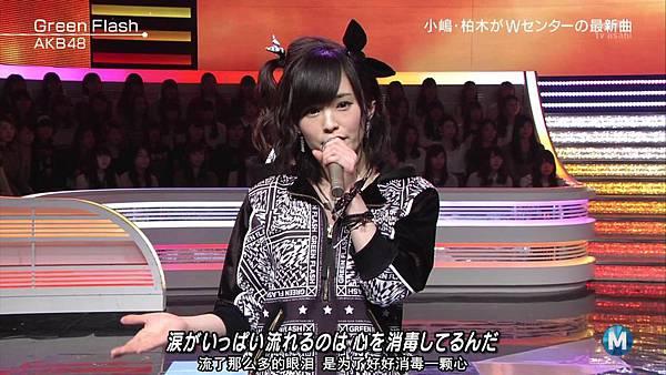 【东京不够热】150227 Music Station AKB48 剪辑版_201534155