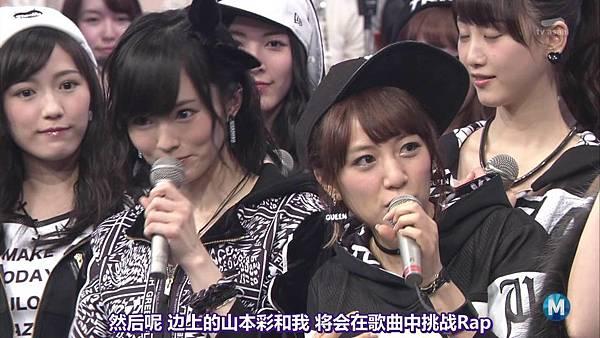 【东京不够热】150227 Music Station AKB48 剪辑版_20153405656