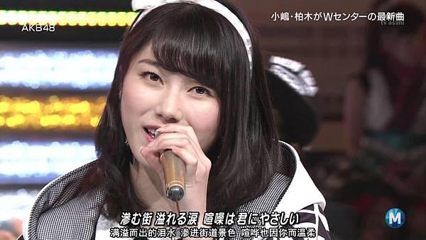 【东京不够热】150227 Music Station AKB48 剪辑版_2015341110