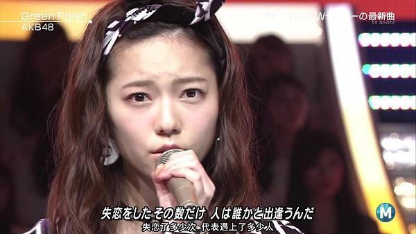 【东京不够热】150227 Music Station AKB48 剪辑版_2015341534