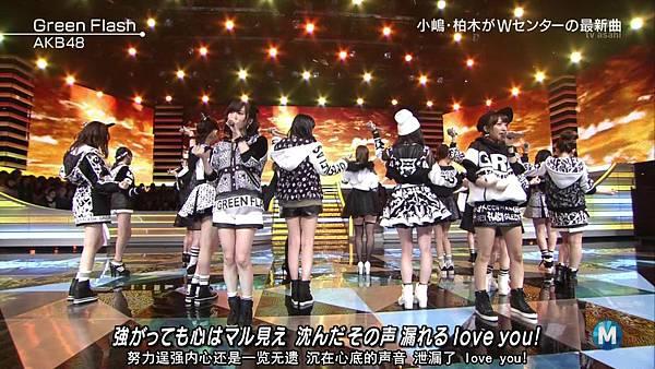 【东京不够热】150227 Music Station AKB48 剪辑版_201534126