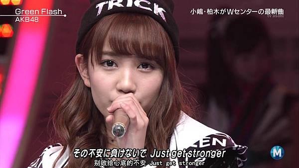 【东京不够热】150227 Music Station AKB48 剪辑版_2015341617