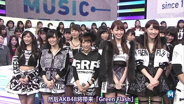 【东京不够热】150227 Music Station AKB48 剪辑版_20153405843