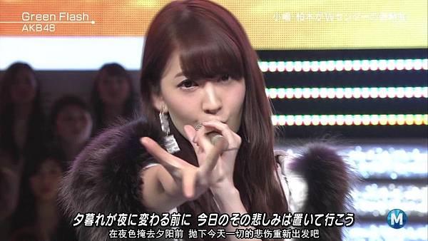 【东京不够热】150227 Music Station AKB48 剪辑版_2015341252