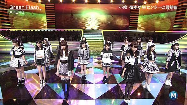 【东京不够热】150227 Music Station AKB48 剪辑版_201534196