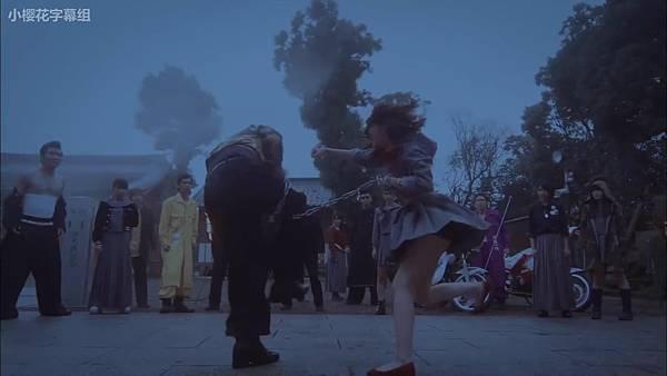 【小樱花字幕组】151123 マジすか学園0 木更津乱闘編 720p_20151128212151