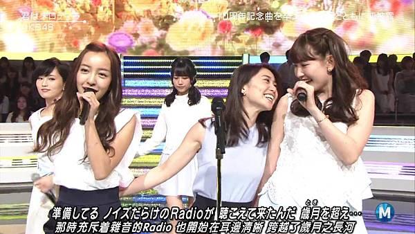 【小櫻花字幕組】160311 MUSIC STATION  AKB48 - 君はメロディー (Talk+Live)_20163131969.JPG