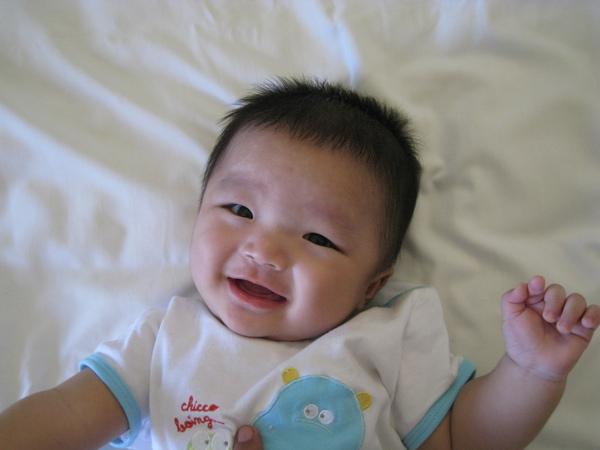 可愛的笑容