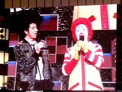 麥當勞叔叔唱歌