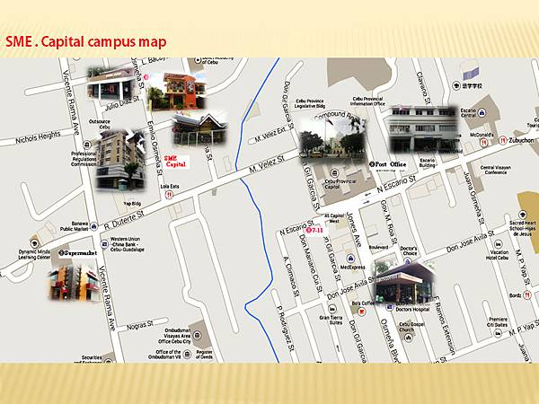 SME Capital campus map