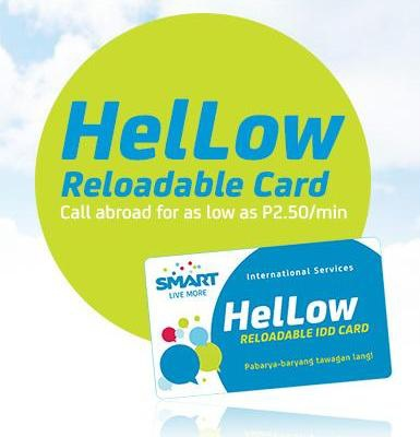 HelLow reloadable card