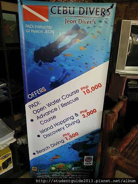 diving price