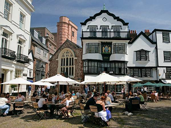 exeter old town