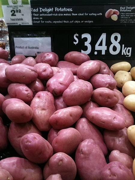 紅皮馬鈴薯