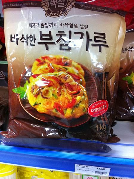 韓式海鮮煎餅粉