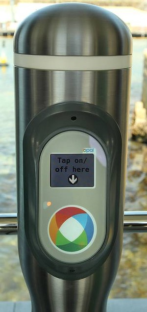 Opal Card Touching Machine