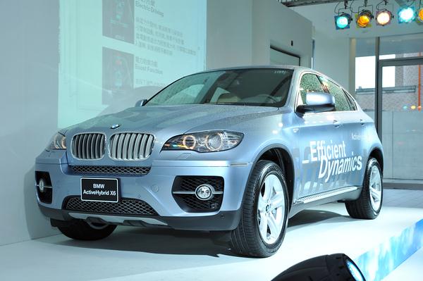 全新BMW ActiveHybrid X6 引領全球最動感油電休旅跑車.JPG