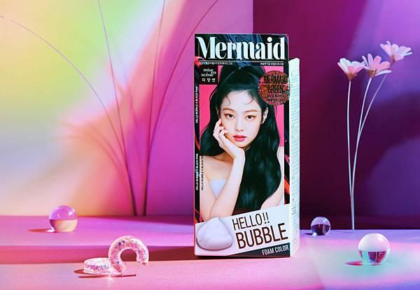 韓國髮妝領導品牌魅尚萱2020首度引進席捲韓國女團的「人魚髮色」-夜幕綠.jpg