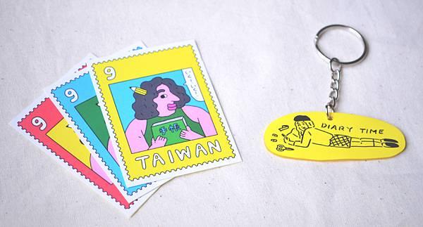 新銳插畫品牌《小高潮色計事務所》、《子仙》製作專屬似顏繪商品.jpg