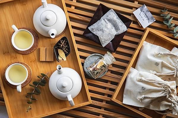 晶華圖三_沐蘭SPA每項療程前的迎賓茶皆會提供「漢方養生茶」以及「足浴中藥包」.jpg