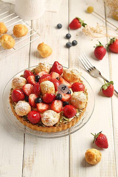 Mini私房點心 甜心巴黎草莓泡泡NT$ 580.jpg