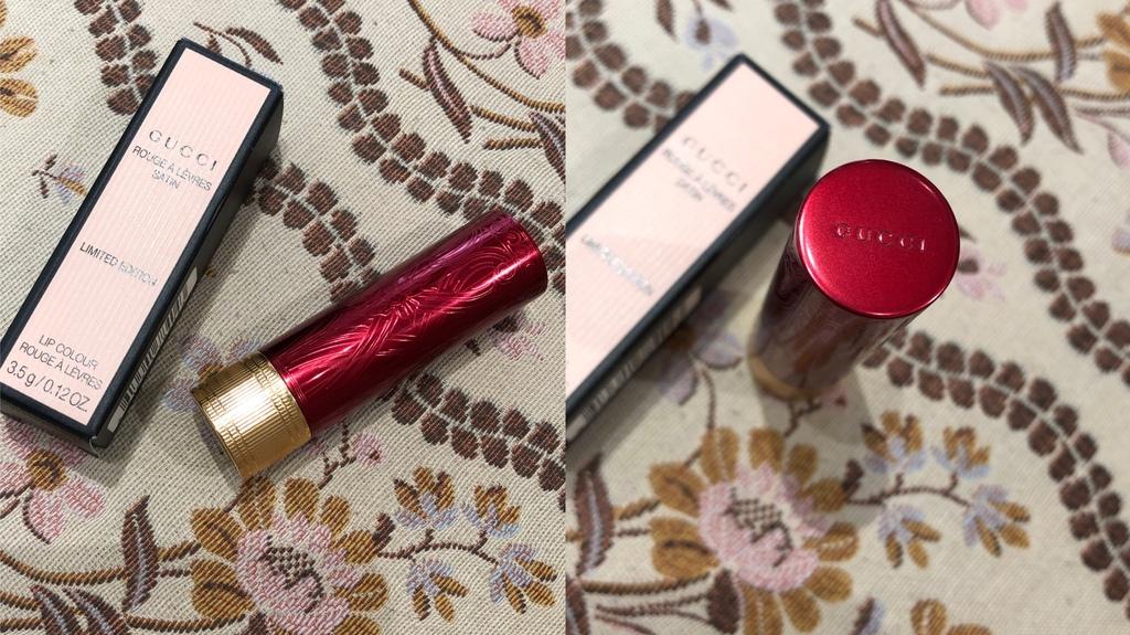 Gucci新年限量版絲緞紅色唇膏-包裝.JPG