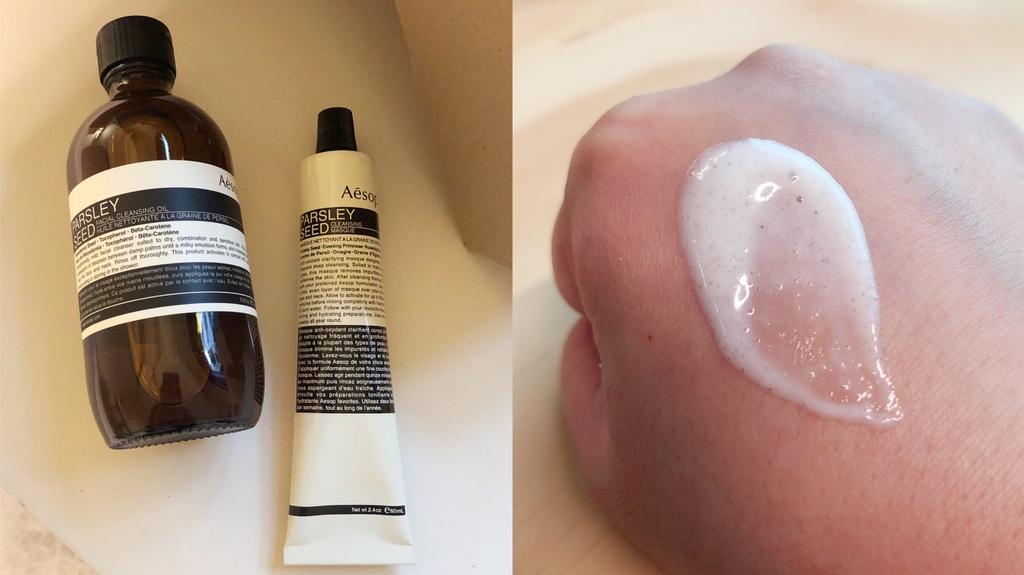 Aesop輕柔潔面乳+純淨滋潤去角質霜.JPG
