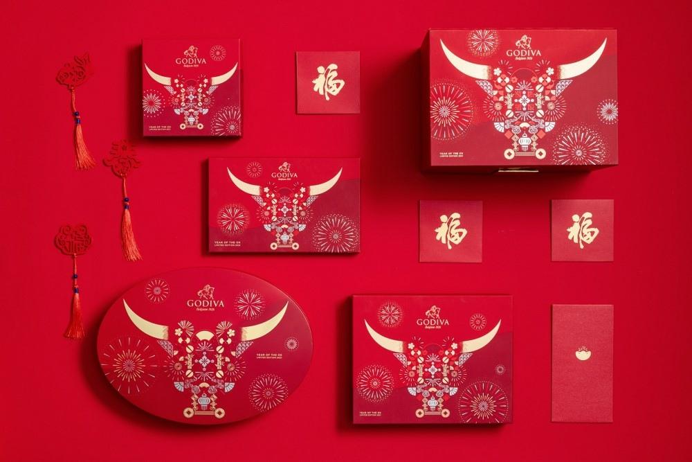 "2. GODIVA 新年系列以充滿節慶氛圍的的包裝設計,代表著揮別2020,迎接2021 ""牛""轉乾坤的開運祝福.jpg"