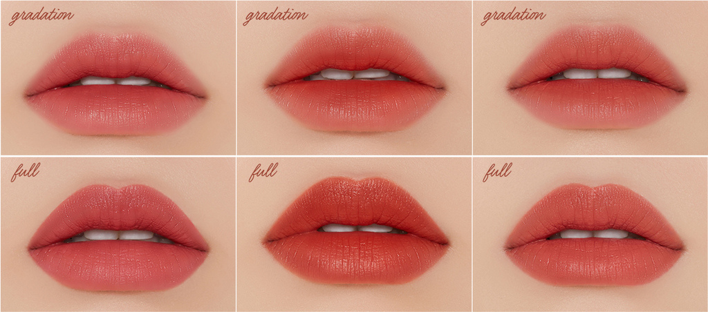 ETUDE HERSHEY'S KISSES巧克力慕斯唇釉-唇試色.jpg