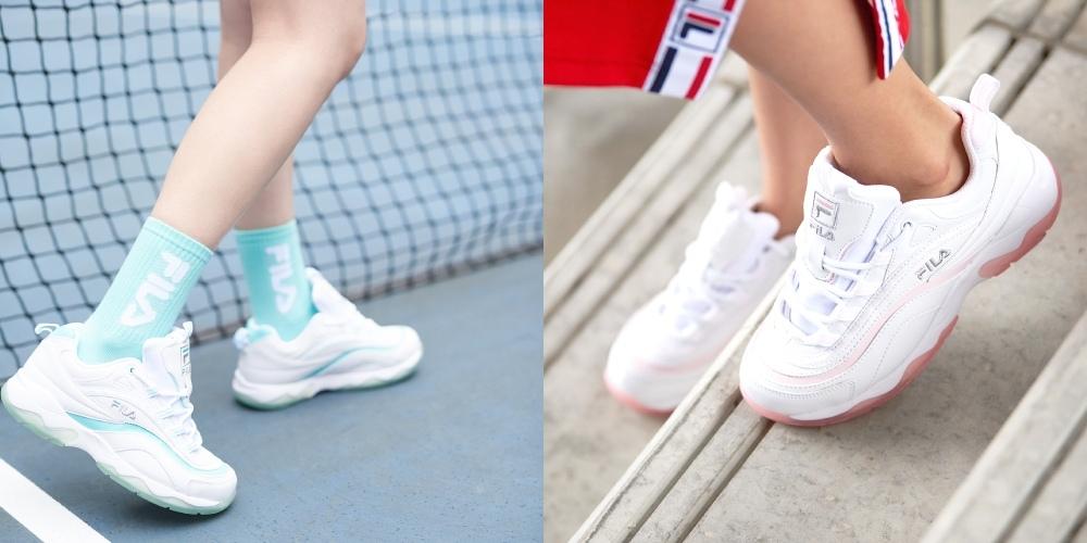 FILA FILA RAY ICY冰晶版球鞋2.jpg