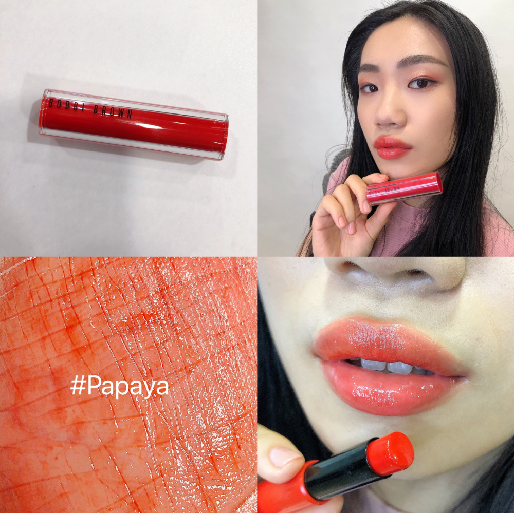 Bobbi Brown迷戀輕吻果凍唇膏#Papaya.JPG