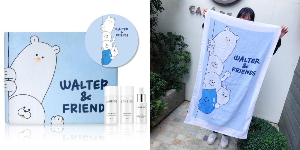 蘭芝WALTER %26; FRIENDS限量浴巾+晶透潤白三件組.jpg