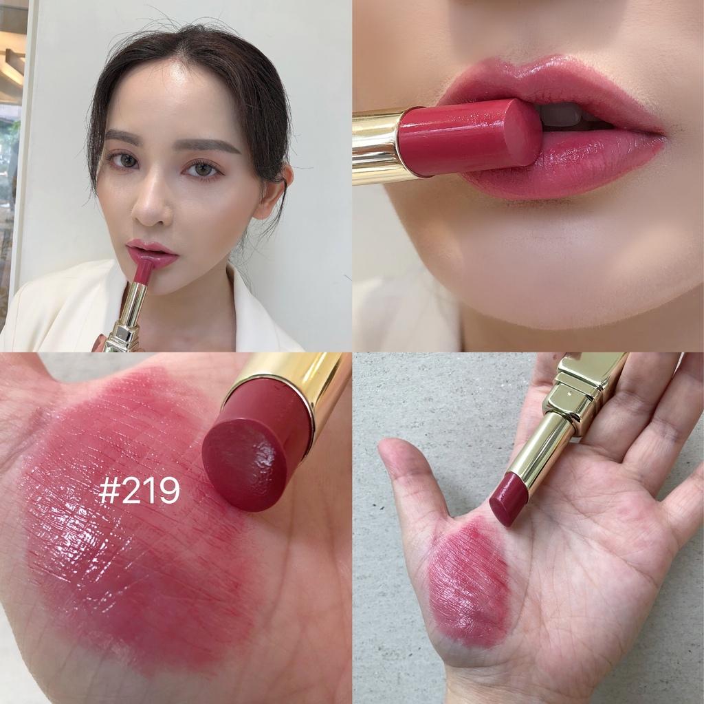 嬌蘭KISSKISS法式之吻波光水潤唇膏#219.JPG