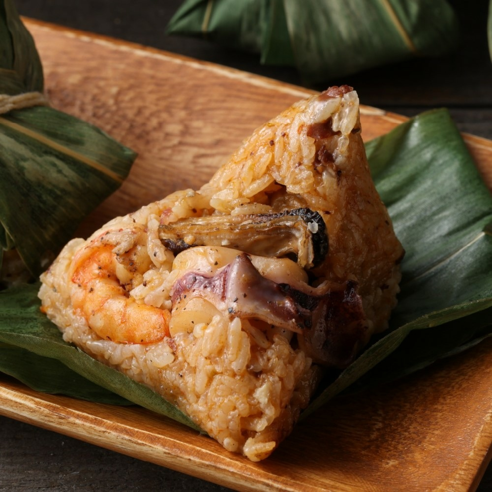 依時海陸市集 西班牙海鮮風味粽 (5入 組) NT$ 499.jpg