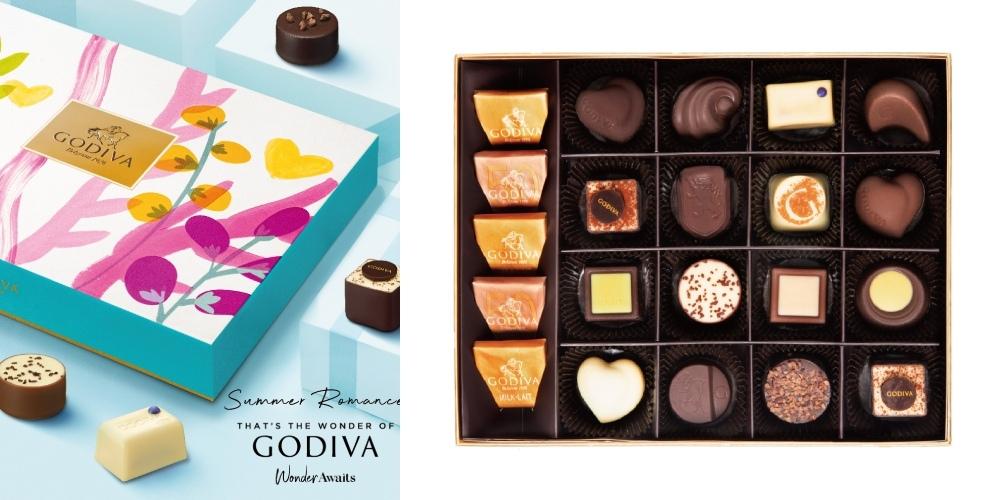 GODIVA夏之戀巧克力禮盒21顆裝.jpg