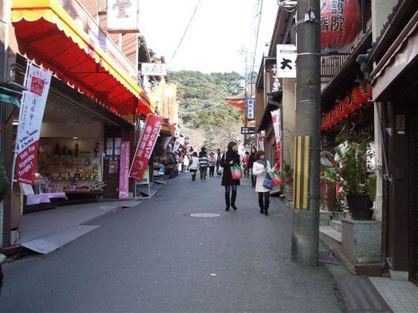 清水寺下山的路