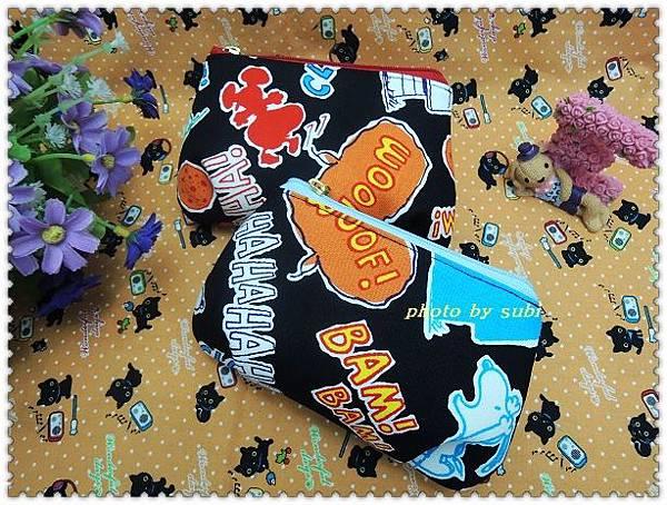 史努比拉鍊包和口罩 006