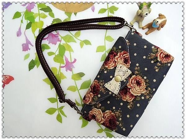 玫瑰水玉小提包 012