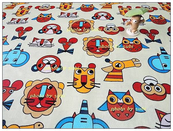 皮格紋防水布組 021