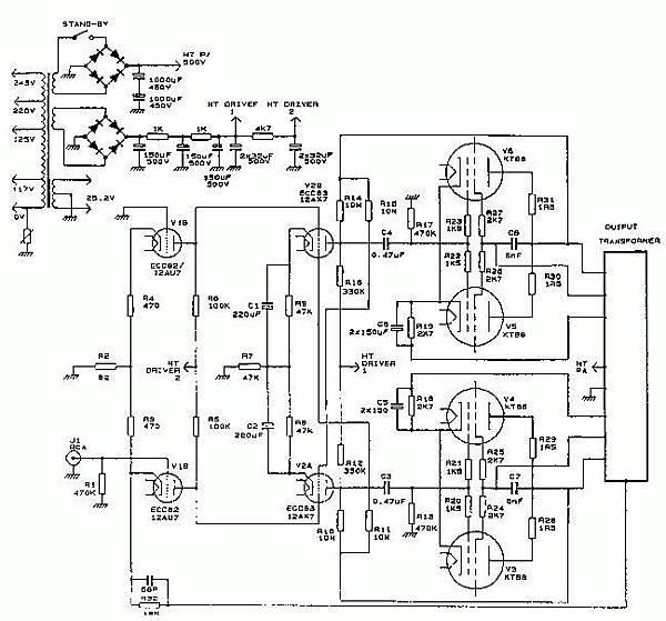 Jadis JA80線路圖