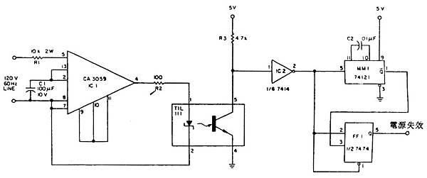 AT-100-005電源失效偵測電路MT-56