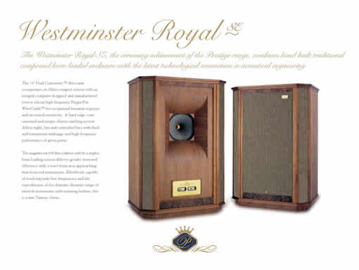 Tannoy-westminster
