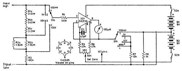 高阻抗直流毫伏表 MT-30