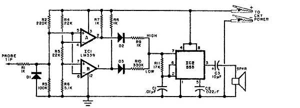 音響式邏輯試棒 DI-5