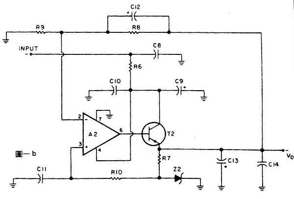 專供OP Amp前級的穩壓電源 圖1b