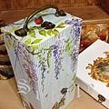 紫藤花鳥--畫筆盒