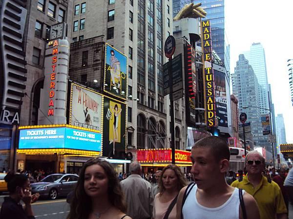 時報廣場街景