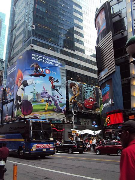 紐約時代廣場街景